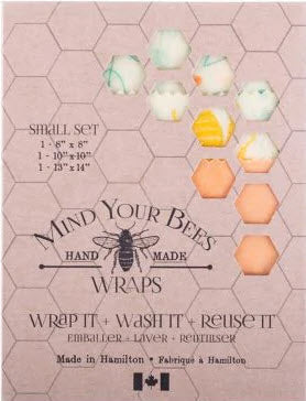 Mind Your Bees Wraps - Small Set