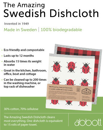 Country Moose Swedish Dish Towel 3