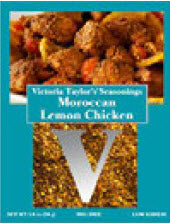 Victoria Gourmet Moroccan Lemon Chicken Spice packet