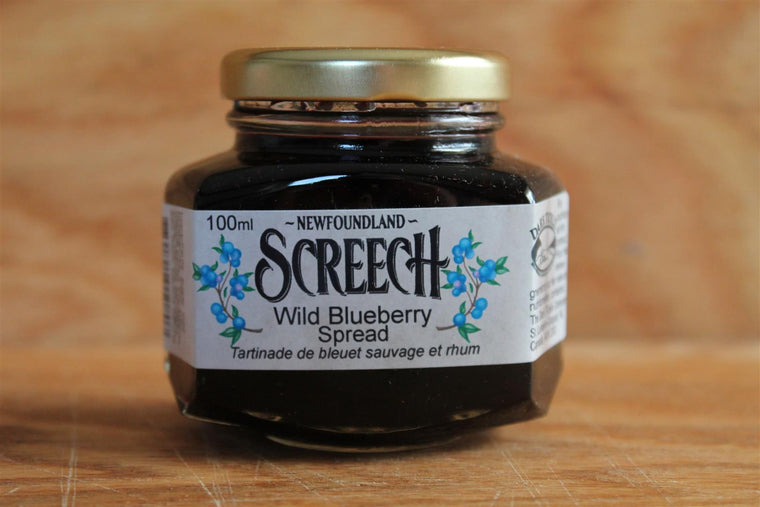 Dark Tickle Newfoundland Screech Blueberry Spread