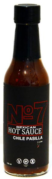 No 7 Chile Pasilla Hot Sauce