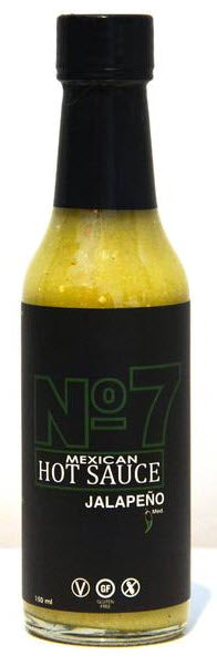 No 7 Mexican Hot Sauce - Jalapeno