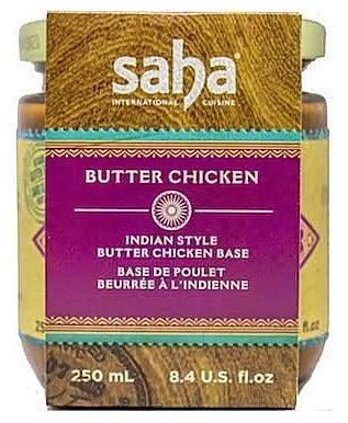 Saha International Cuisine Butter Chicken Base