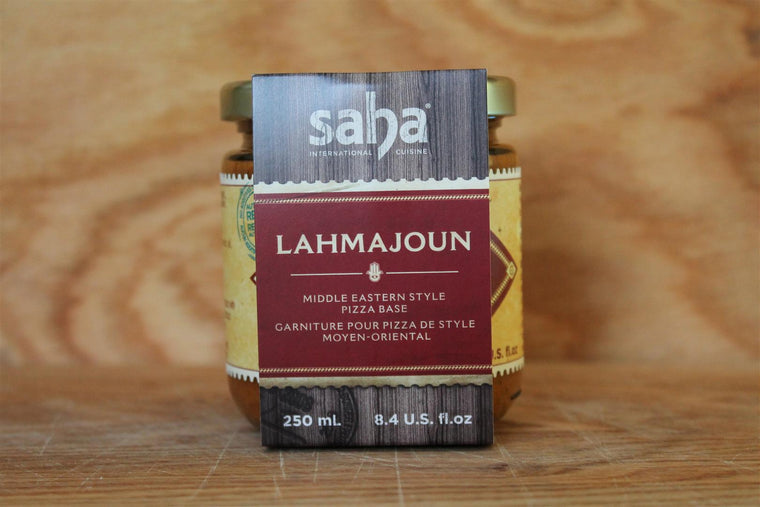 Saha International Cuisine Lahmajoun Pizza Base - 250ml