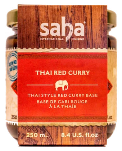 Saha International Cuisine Thai Red Curry Base - 250ml
