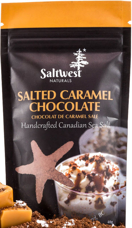 Saltwest Salted Carmel Chocolate Sea salt