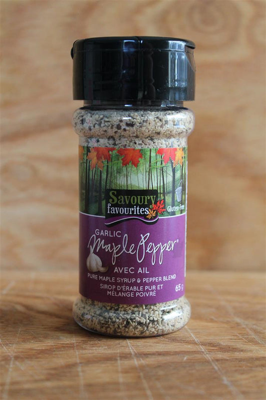 Savoury Favourites Garlic Maple Pepper