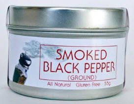 Smoked Black Pepper (ground) - The Epicentre