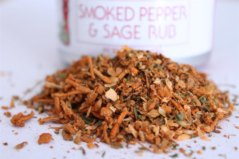 Smoked Pepper and Sage Rub - The Epicentre 45g