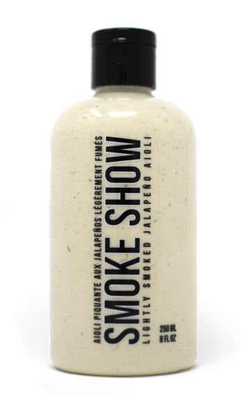 Smoke Show lightly Smoked Jalapeno Aioli