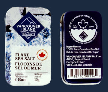 Vancouver Sea Salt - Travel Tin (10g)