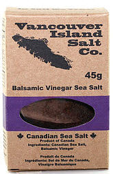 Balsamic Vinegar Sea Salt (45g) - Vancouver Island Salt Co.