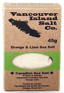 Orange and Lime Sea Salt (45g) - Vancouver Island Salt Co.