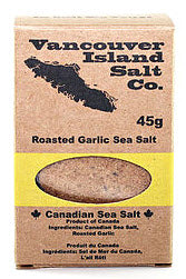 Roasted Garlic Sea Salt (45g) - Vancouver Island Salt Co.