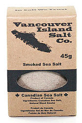 Smoked Sea Salt (45g)  Vancouver Island Salt Co.