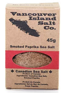Smoked Paprika Sea Salt (45g) - Vancouver Island Salt Co.
