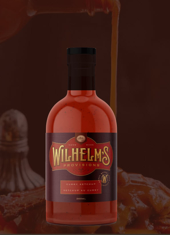 Wilhelm's Provisions Curry Ketchup