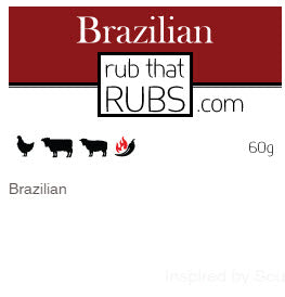Brazilian Rub from Rub That Rubs - 60g