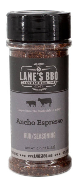 Lane's BBQ - Ancho Espresso Rub - 4oz (113g)