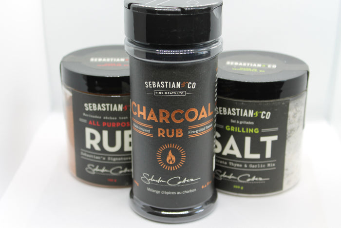 Sebastian and Co. - Charcoal Rub group