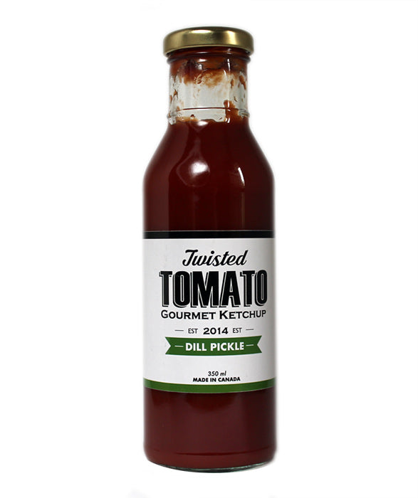 Twisted Tomato Gourmet Ketchup - Dill Pickle flavour