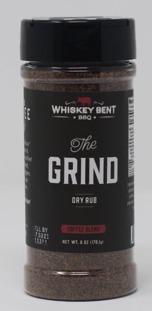 Whiskey Bent BBQ - The Grind Dry Rub 6oz (170g)
