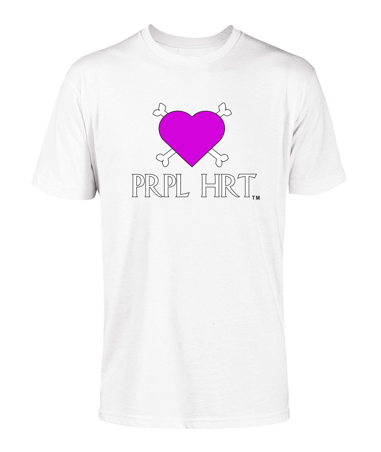 PRPL HRT Logo Men's T-Shirt