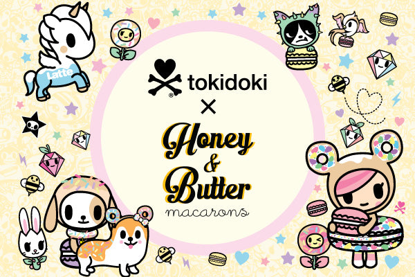 tokidoki x Honey & Butter Collaboration Launch Event (March 23rd)