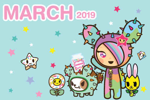 Download our March calendar here!
