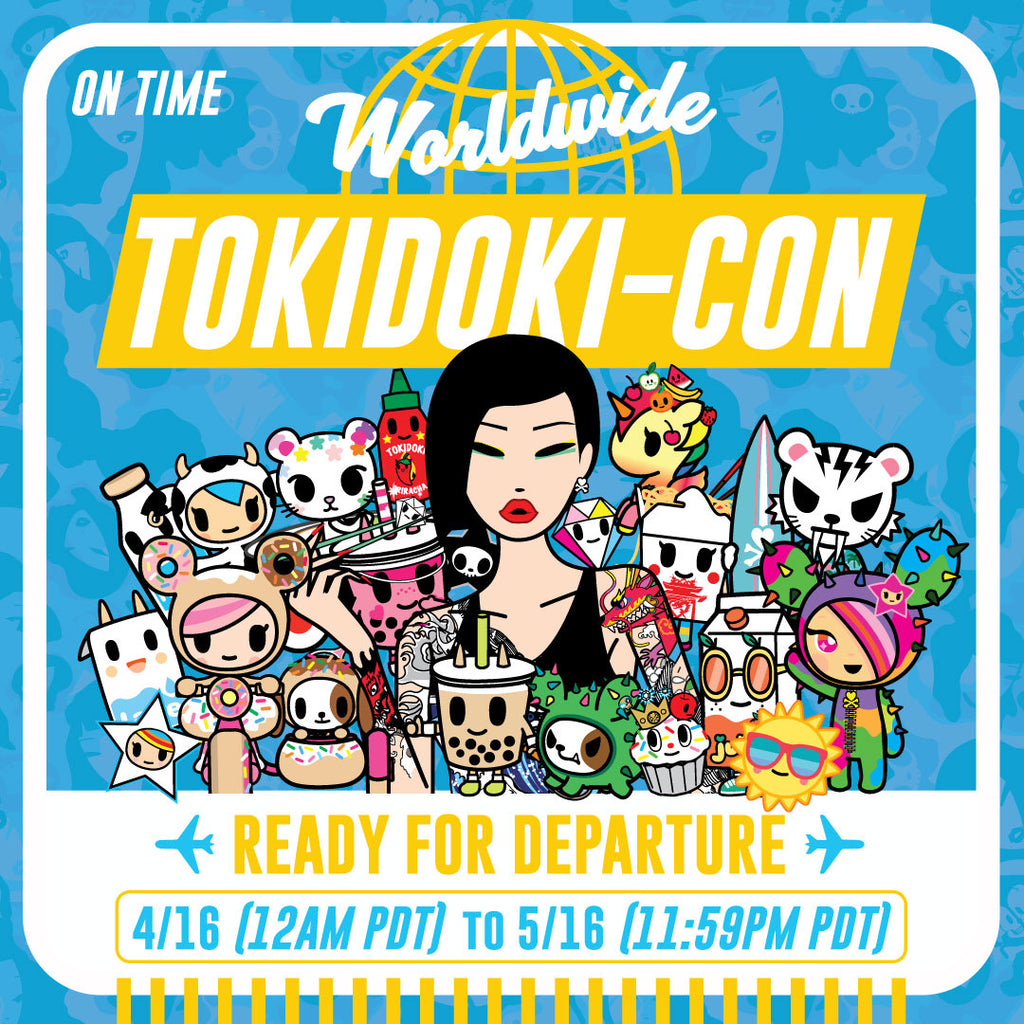 Welcome to tokidoki-Con!