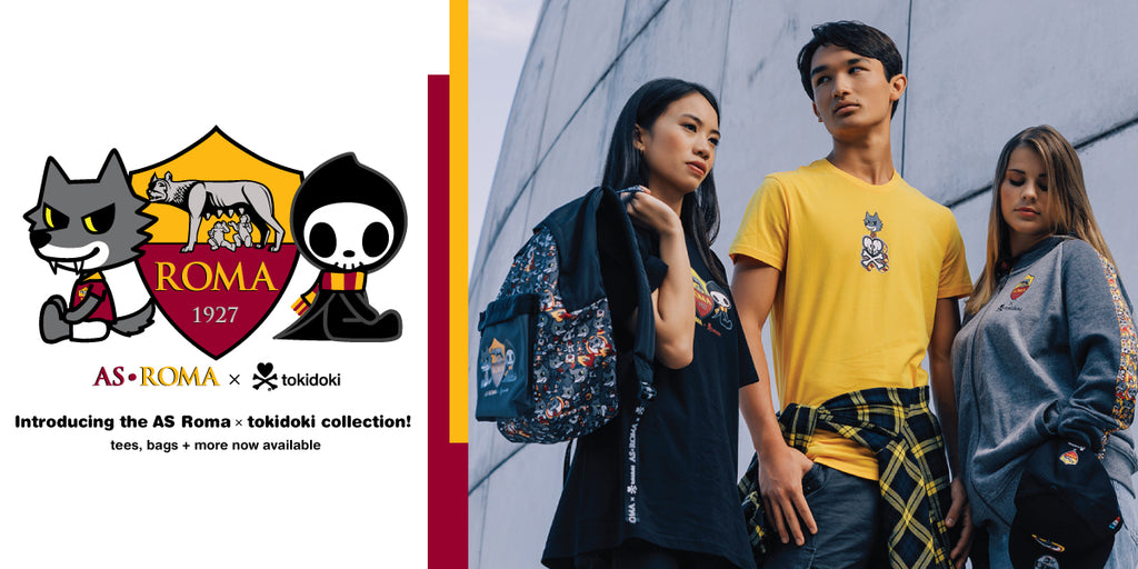 AS Roma x tokidoki Collection