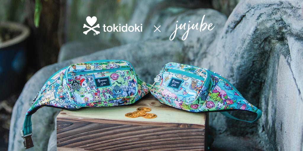 Shop our tokidoki x JuJuBe Collection!