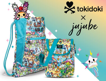 Shop our tokidoki x JuJuBe Fantasy Paradise Collection!