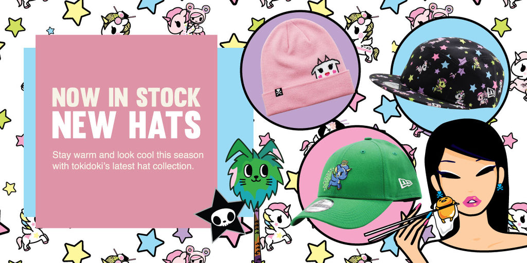 Shop our latest tokidoki hats & beanies!
