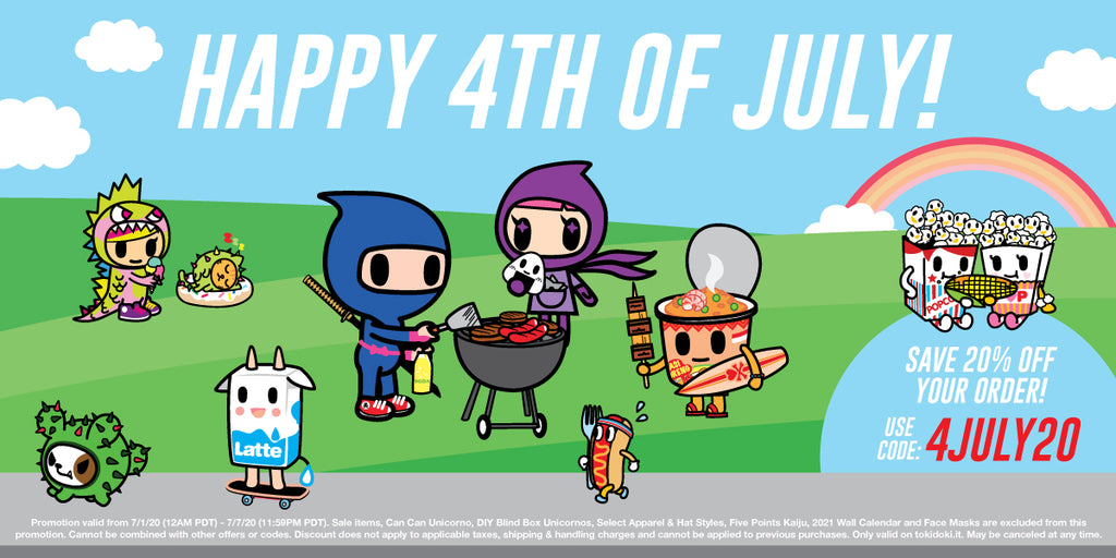 Celebrate 4th of July with 20% off your order!