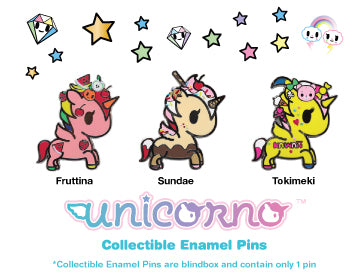 tokidoki Unicorno Enamel Pin Blind Box