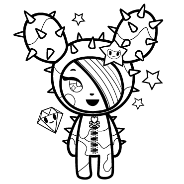 Coloring Pages Tokidoki