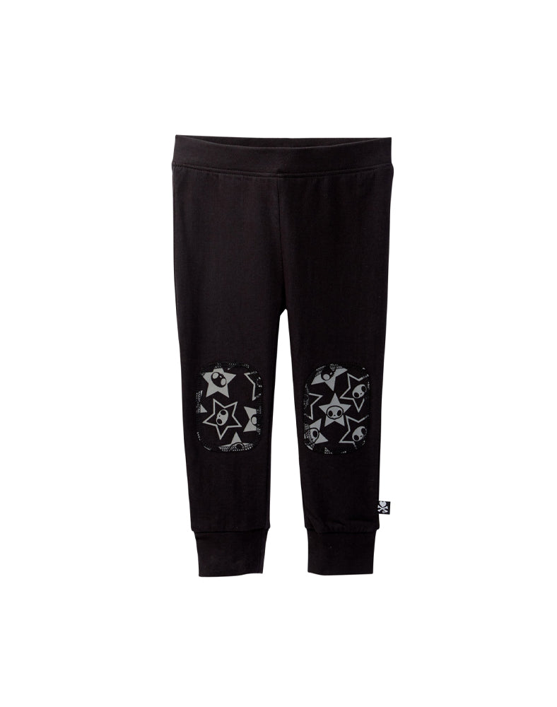 tokidoki Bambino Printed Patch Pants (Black)