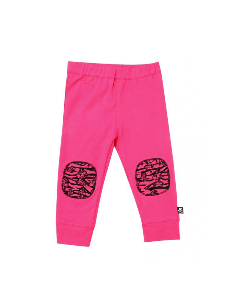 tokidoki Bambino Printed Patch Pants (Dark Pink)
