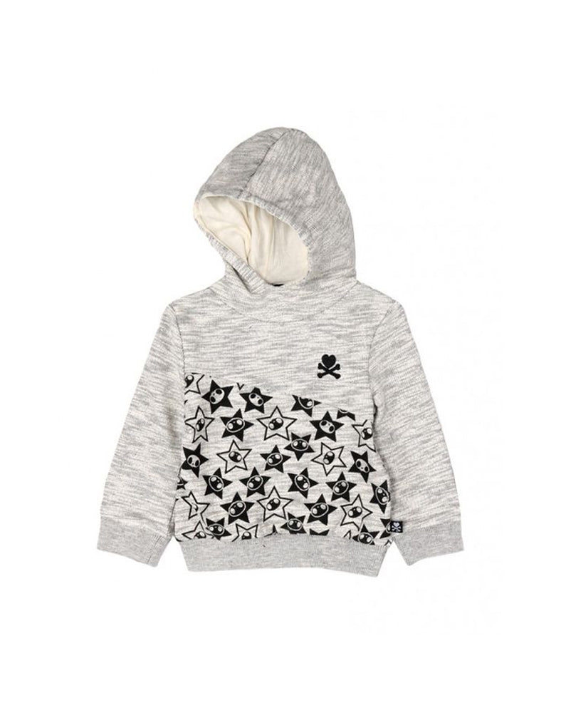 tokidoki Bambino Hooded Sweatshirt (Light Grey)