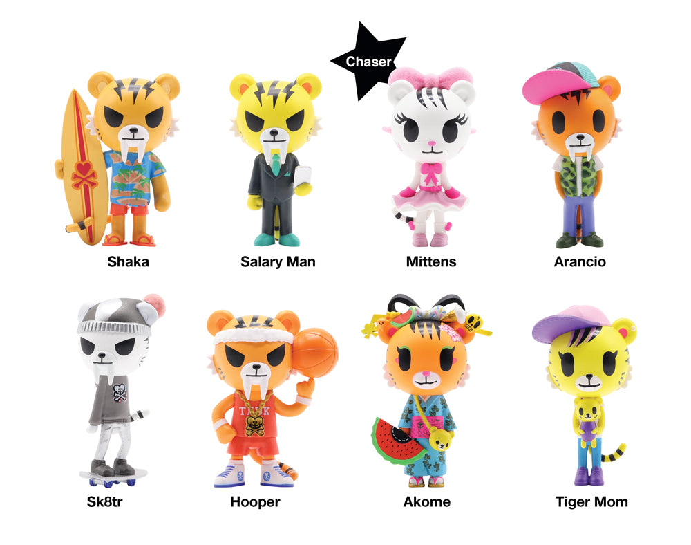 Tiger Nation Blind Box Roster