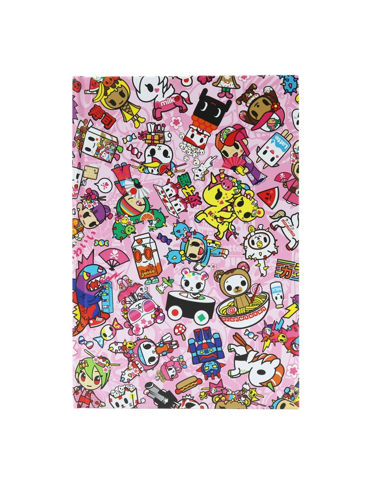 Toki Kawaii Hard Cover Notebook back cover
