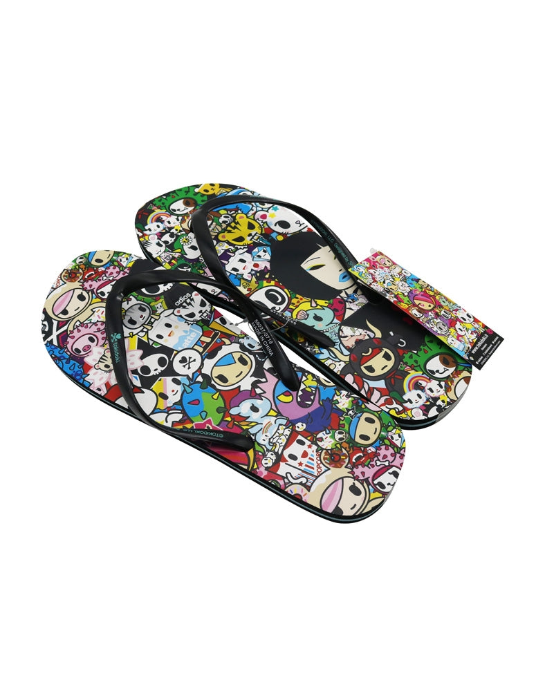 tokidoki All Stars Women's Flip Flop Sandals above