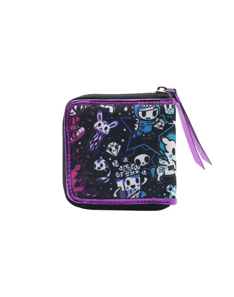 Galactic Dreams Small Zip Around Wallet back