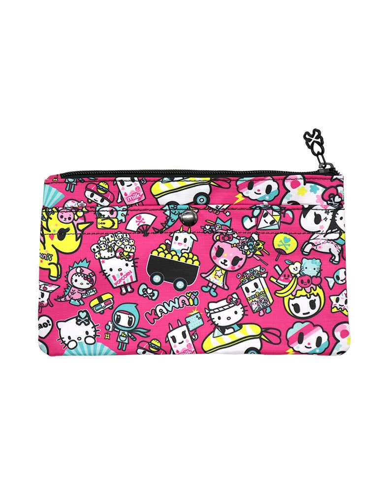 tokidoki x Hello Kitty Kawaii Pencil Pouch back