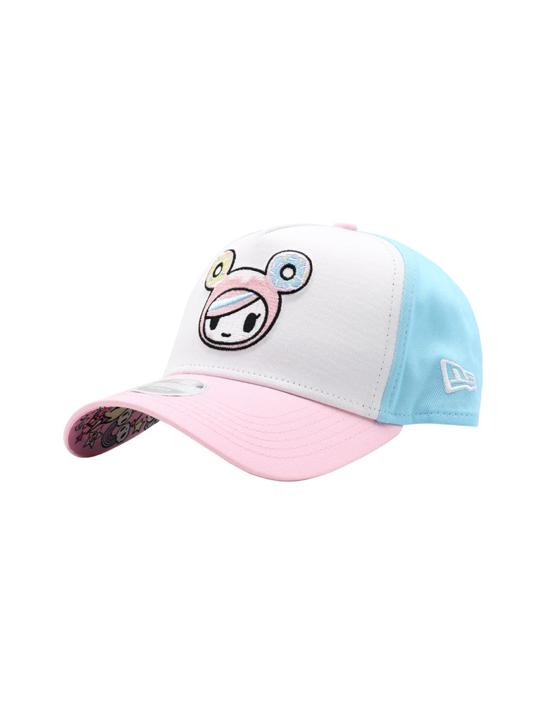 Pretty Pink Donutella Women's Snapback front side