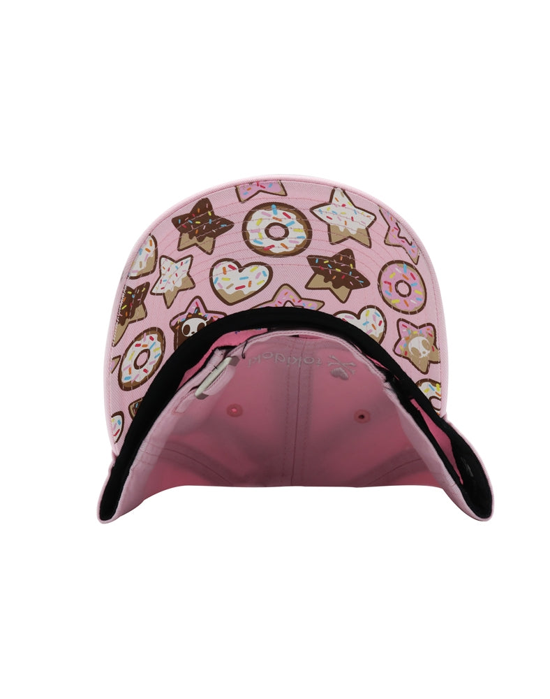 Biscotti Women's Adjustable Dad Hat brim underside