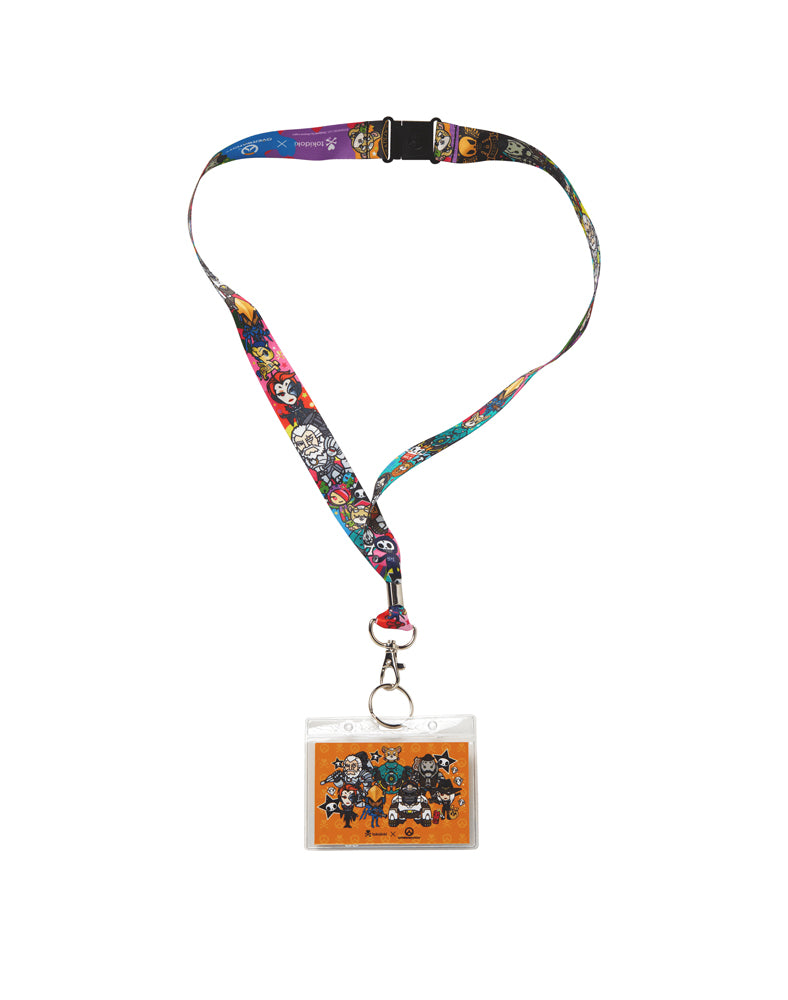 tokidoki x Overwatch Team Lanyard (Orange)