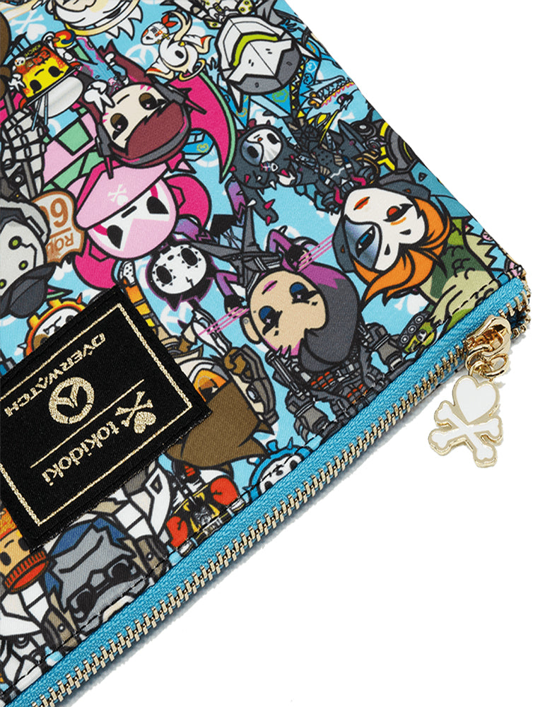 tokidoki x Overwatch Team Zip Pouch Close Up