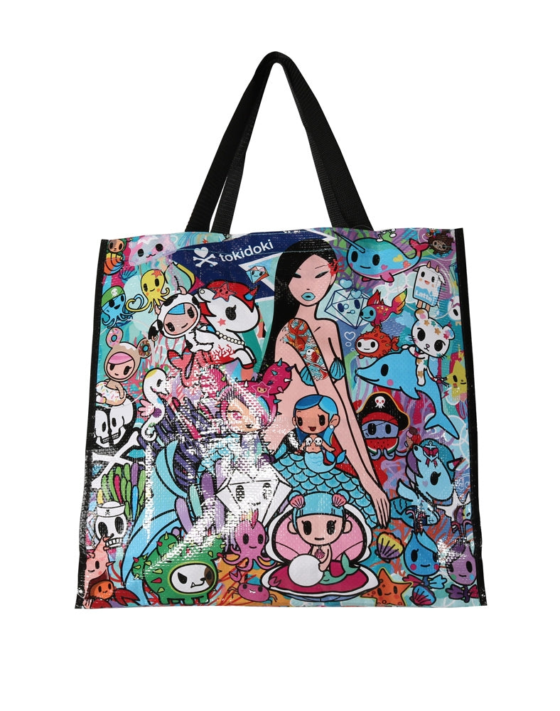 tokidoki Sea Punk Vinyl Tote Back